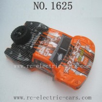REMO HOBBY 1625 ROCKET Parts-Body Shell Orange