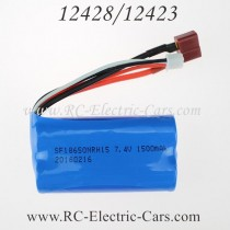 wltoys 12428 12423 car battery