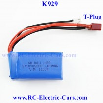 WLtoys K929 Car battery upgrade