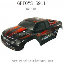 GPTOYS S911 FOXX Parts Car Shell RED
