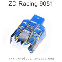ZD Racing 9051 Parts-Body Shell Blue