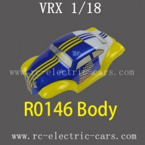 VRX RC Car 1/18 parts-R0146 Car Body