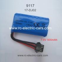 XINLEHONG 9117 battery