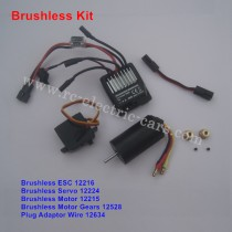haiboxing HBX 12811 SURVIVOR XB Upgrade Brushless Kit