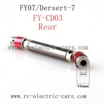 Feiyue FY07 Car Upgrade parts-Metal Rear Wheel Transmission FY-CD03 Red