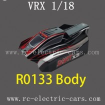 VRX RC Car 1/18 parts-R0133 Car Body