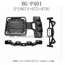 HENG GUAN HG P401 Parts-Protect Frame and Fix Plate