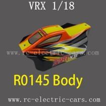 VRX RC Car 1/18 parts-R0145 Car Body