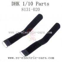 DHK HOBBY 8381 Parts-Tire 8131-020