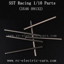 SST Racing 1/10 1997 1988T2 Car Parts-Metal Pins 09132