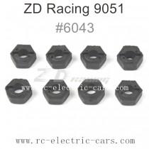 ZD Racing 9051 Parts-Wheel Fixing HEX