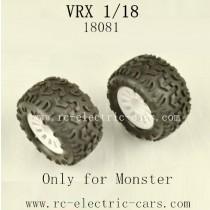 VRX RC Car 1/18 parts-18081 Wheels