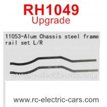 VRX RH1049 Upgrade Parts-Alum Chassis Steel Frame Rail Set