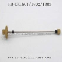 HD DK1801 1802 1803 Parts-Drive Gear Shaft