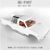 Heng Guan HG P-407 Parts Car Shell ASS-08 White color