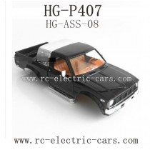 Heng Guan HG P-407 Parts Car Shell Black