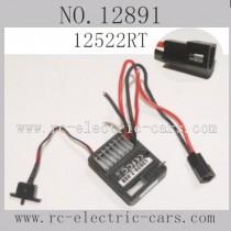 Haiboxing 12891 Car Parts-ESC Receiver 12522RT