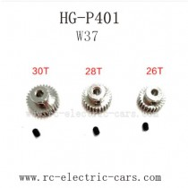 HENG GUAN HG P401 Parts-Motor Gear Original