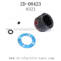 ZD Racing 08423 Car Parts-Differential Shell 8321