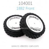 WL-TECH XK 104001 Parts 1882 Front Wheels