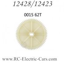 wltoys 12428 12423 car Deceleration Gear 62T