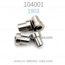 WLTOYS 104001 1/10 RC Car Parts 1903 Flange Copper Sleeve 6.5X7.4MM