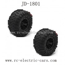 JDRC JD-1801 Parts Wheels Complete