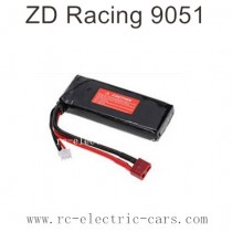 ZD Racing 9051 Parts-7.4V 1500mAh Lipo Battery