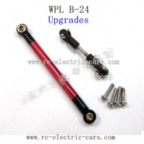 WPL B24 GAz-66 Upgrades-Red Metal Connect Rod and Red Metal Ball Head