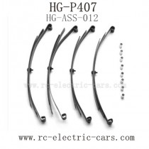 Heng Guan HG P-407 Parts Shock Axle Plate HG-ASS-012
