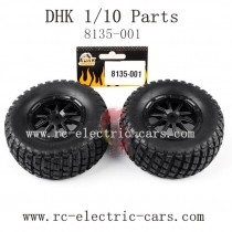 DHK HOBBY 8135 Parts-Wheels 8135-001