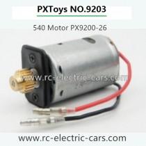 PXToys 9203 Car-540 Motor