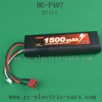 Heng Guan HG P-407 Parts 7.4V 1500mAh Battery
