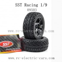SST Racing 1/9 Car Parts-Wheels for Oil Car 09503