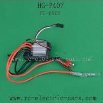 Heng Guan HG P-407 Parts ESC HG-RX03