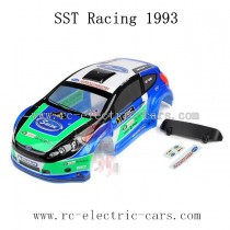 SST Racing 1/9 Car Parts-PVC Color Car Shell