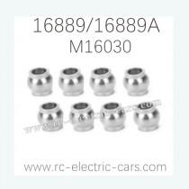 HAIBOXING HBX 16889 16889A Parts Steering Pivot Balls M16030