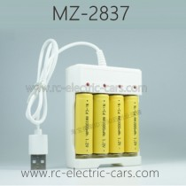 MZ 2837 RC Car Parts-Transmitter Battery