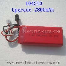 WLTOYS WL TECH 104310 Parts Upgrade Battery 2800mAh