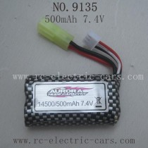 XINLEHONG TOYS 9135 Parts Battery 500mAh