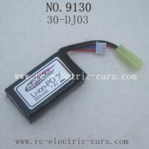 xinlehong toys 9130 car-Battery 7.4V 800mAh 30-DJ03
