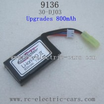 XINLEHONG TOYS 9136 Upgrades Parts-Battery 800mah