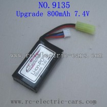 XINLEHONG TOYS 9135 Upgrade Parts Battery 800mAh