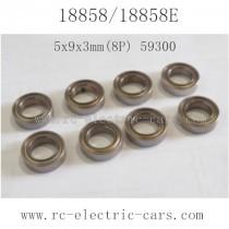 HBX 18858 Car Parts Ball Bearing 59300