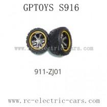 GPTOYS S916 Parts Tire 911-ZJ01