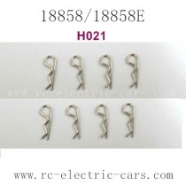 HBX 18858 Car Parts Small Body Clips