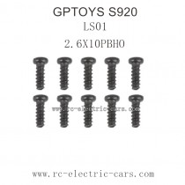 GPTOYS S920 Parts-Round Headed Screw 25-LS01