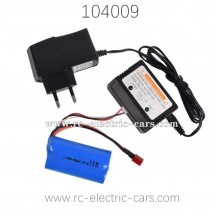 WL-TECH XK 104009 Speed Racer Parts Battery and Charger box
