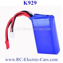 Wltoys K929 rc CAR Battery 1100mAh