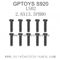GPTOYS S920 Parts-Screw 25-LS02